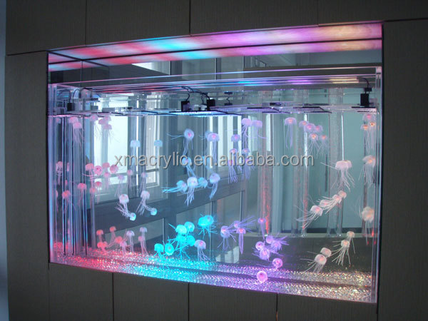 Acrylic Jellyfish Tank for Wall Decoration