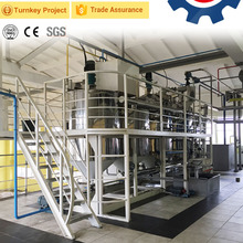 High efficient mini soya oil refinery plant