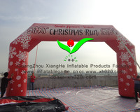 Amazing commercial pvc Inflatable Christmas Star Arch