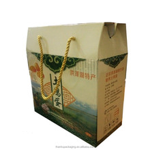 Custom made any type of corrugated paper packaging carton box for gain