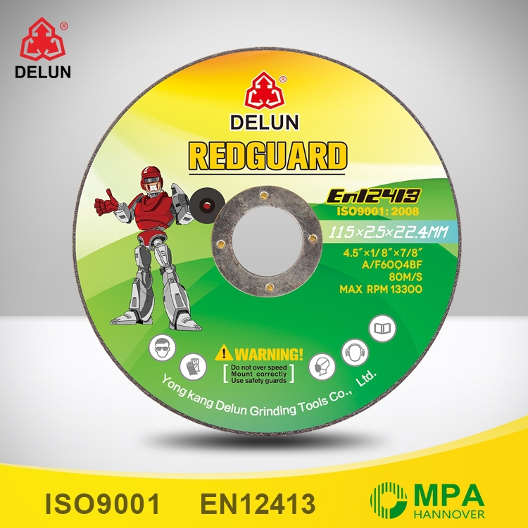 4.5 inch fiberglass cutting disc