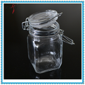 250ml Glass Jar with Metal Clip Airtight Glass Spice Container
