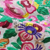 Water soluble lace fabric/Customized high quality embroidery lace/Fashion design Fabric Lace (15007101)