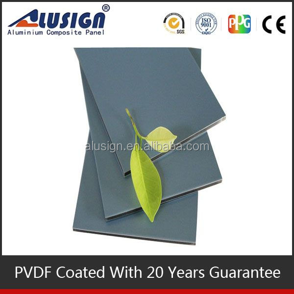 Alusign high quality flexible fireproof b1 aluminum composite panel