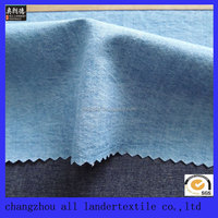 high quality indigo 100% cotton denim fabric/clothing