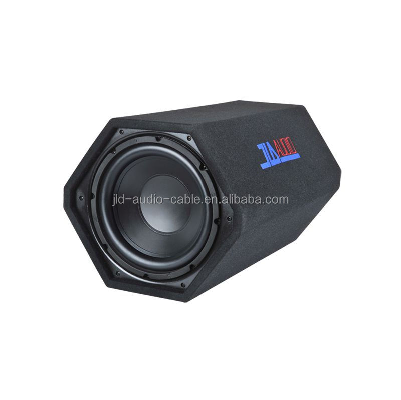JLD Audio Ported 12 inch subwoofer bandpass speaker tube subwoofer enclosure made in China