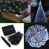Solar Power Garden Lamp String of 100 LED Fairy Waterproof White Lights for Wedding Christmas Decoration