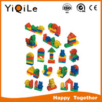 Hot-sell Plastic building connector toys educational toy in low price
