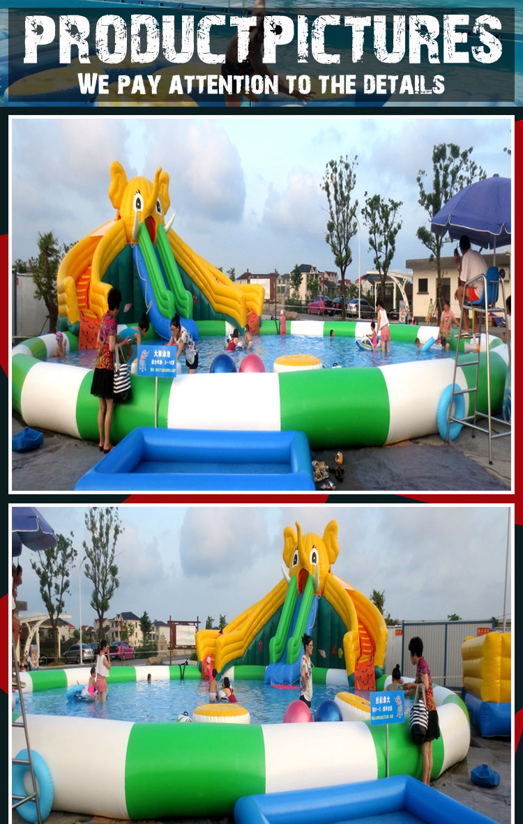 factory made inflatable commercial water park prices