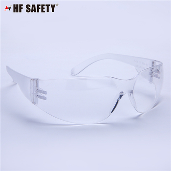 Cheap Price Clear Protective Construction Laser Industrial Safety Googles ANSI Z87 Safety Glasses