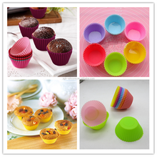 Wholesale Soft Kitchen Accessories Muffin Paper Cup Silicone Bakeware