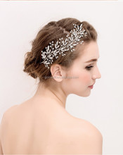 fashion wedding bride shiny beautiful pure handmade crown