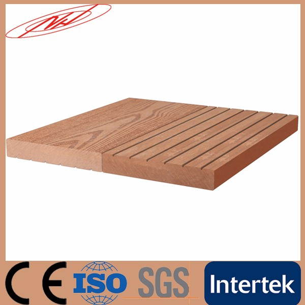 wpc decking outdoor plastic floor wpc diy tiles
