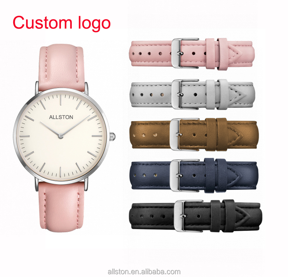2017 new design paidu watch fashion genuine leather strap watches quartz watch