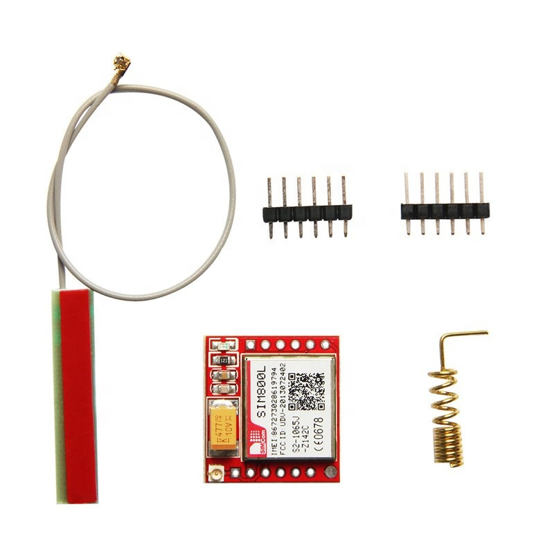 Low Cost Smallest Mini 4G Rohs Programmable Gsm Gps <strong>Module</strong> Sim800L Antenna