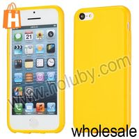 For Apple iPhone 5C Case,Solid Color Frosted Soft TPU Cover Mobile Phone Case for iPhone 5C