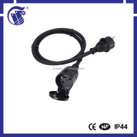 IP44 220v multi plug power extension cord