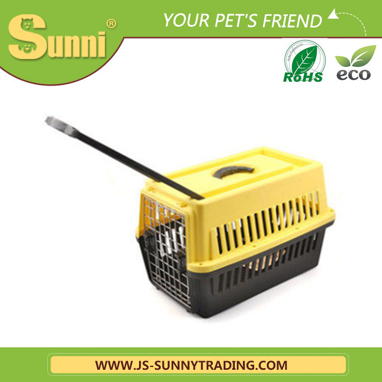 Dog travel cage with wheels big pet cages for dog