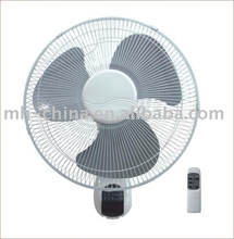 New designed 16 inch electric Wall fan with remote control function made in China