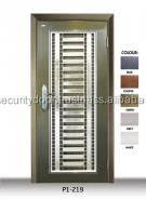 P1219 Stainless Steel Grille Security Doors Made from Malaysia