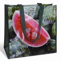 Hang Label Eco Smart Shopping Professional Strong Restaurant Recyclable Pet Non Woven Bag