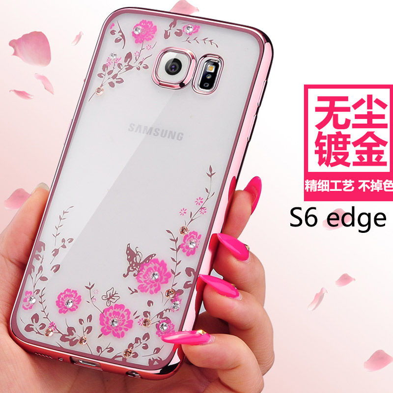 2016 mobile phone accessories Chrome Plated TPU print silicon phone case for Samsung Galaxy J1 J1Ace