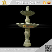 Garden ornament marble stone water fountain