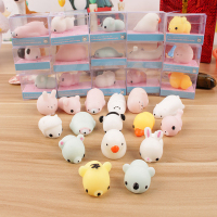 Squishy Phone Straps for iPhone Cute Mini Soft Silicone Squishy Toy Finger Pinch Squeeze Toy