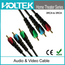 Home theater coaxial cable RGB cable 28AWG RCA for DVD CD TV