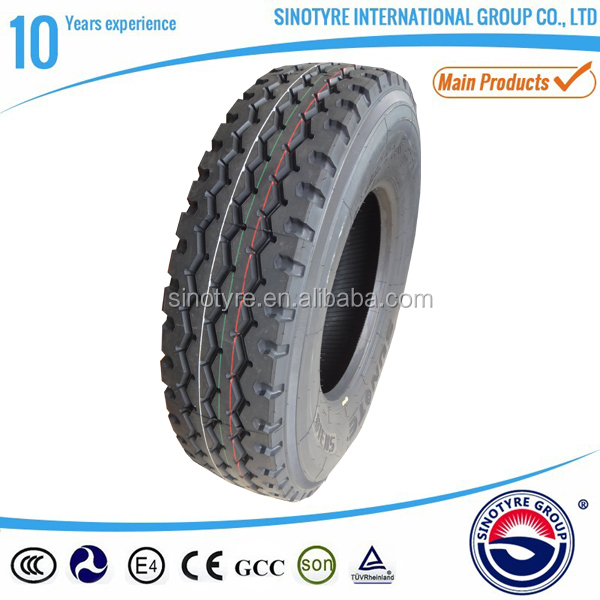 Sunote brand Trade Assurance heavy duty truck tyre/tire 13R22.5 suitable for minning