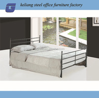 foshan furniture army folding single metal bed