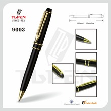 2015 classical black metal ball pen