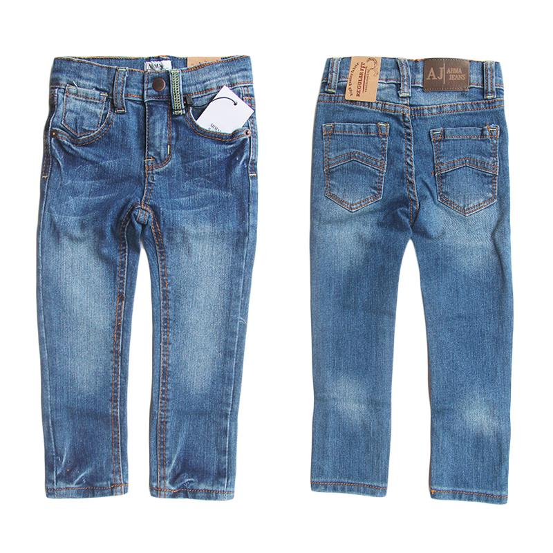 Brand AJ Casual Boys Jeans Pants Denim Washed Jeans For Boy Summer Style Kids Children's Jeans Baby Boy Trousers 18M-6A 4451