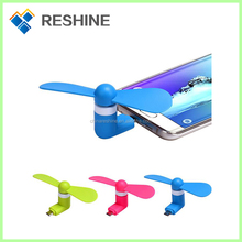 Portable OTG Mini Micro USB Large Wind Cooling Fan Mini Usb Fan For Phone