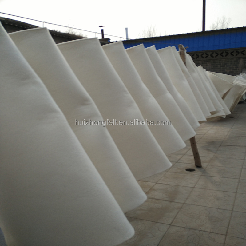8mm,10mm thick hard pressed white 100% wool felt
