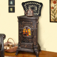 Hot Selling CE Certified Cast Iron Wood Burning Stove