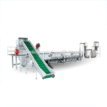 Factory direct supply PP PE PET bottle recycling machinery electronics with PLC control system