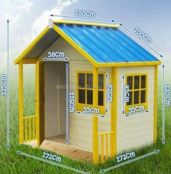 Hot selling wood kidhouse made in China