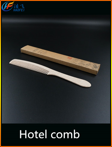 yangzhou plastic hotel personalized hair combs/popular design
