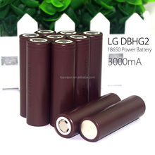 High quality Authentic LG HG2 3.7v rechargeable 18650 battery