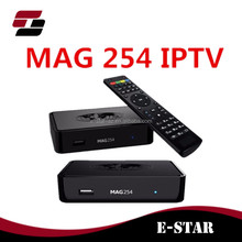 2017 mag 254 iptv box wifi New Mag 254 Multimedia Player Internet Tv Box Iptv Set Top Usb Hdtv Mag254