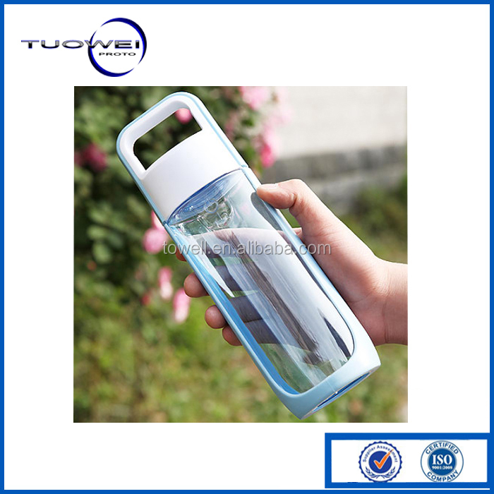 Clear PC Plastic Water Bottle Test Rapid Prototypes