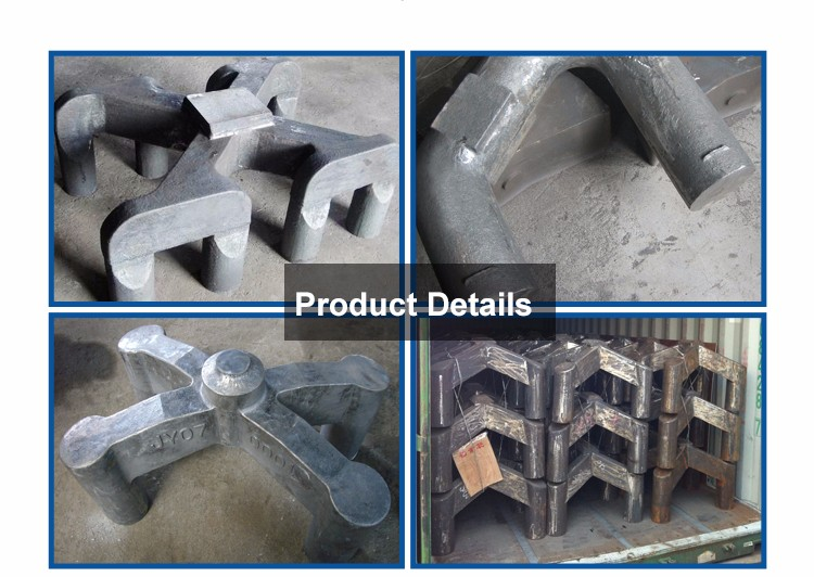 China Specialized Manufacturer Steel Casting Cast Steel Anode Yoke Steel Yoke