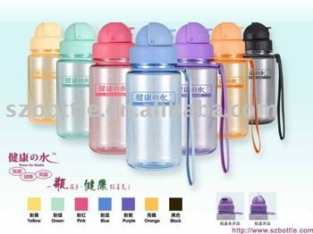new design bottle food grade water bottle Shenzhen factory