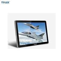 55 inch wall mount Infrared touch screen computer monitor durable touch display