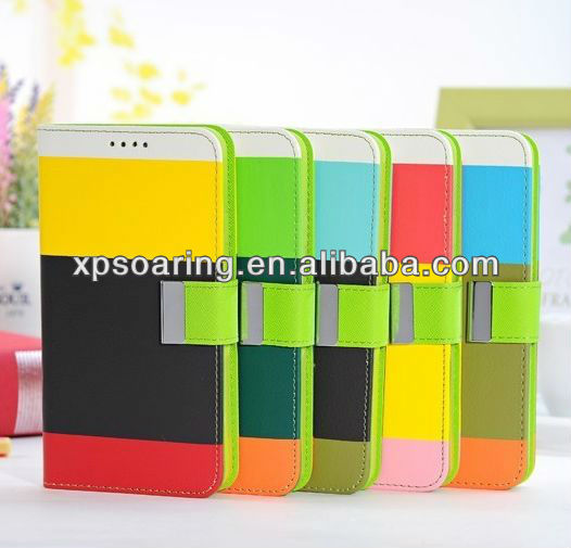 Fashion wallet leather pouch case for Samsung Galaxy Note III N9000