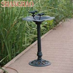 metal Bird bath well decoration garden bird feeder