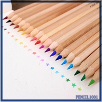 Low cost pencil color set,High quality wood color pencil,Mixed colors color pencil