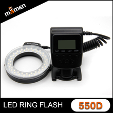 LED camera flash Travor macro Ring Flash RF-550D For Nikon&Canon