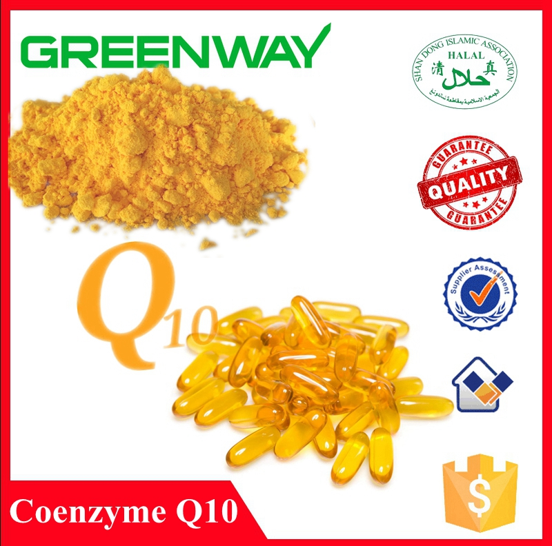 High Quality Coenzyme Q10, Ubiquinone, coenzyme Q10 Water Soluble